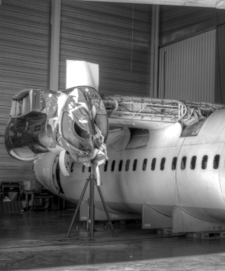 SAMCO aircraft teardown